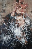 Cracked Glass by OrigamiCupcake
