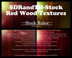 Red Wood Textures 01 Pack by SDRandTH-Stock