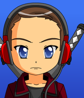 Cole as Anime! :D by BladetheEchidna1