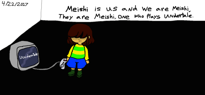 Meishi The Plays Undertale 2017 by Elzathehedgehog