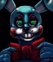 FNAF: Toy Bonnie by KyokiLeFreakshow