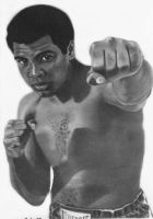 Muhammad Ali by drawman61