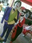 Joker and Harley Quin by milenyo