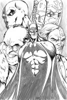 Batman and Bad Company by RodneyCJacobsen
