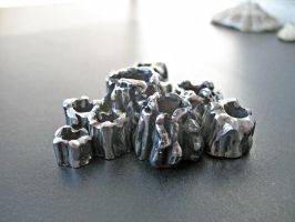 Barnacles in stainless steel by ou8nrtist2