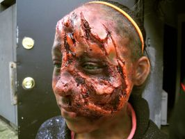 Little Girl Zombie Prosthetic by Anesthetic-X