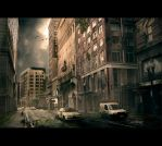Post apocalyptic chicago by Pathogens