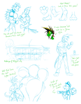 Monthly sketches - December 2015 by McTaylis