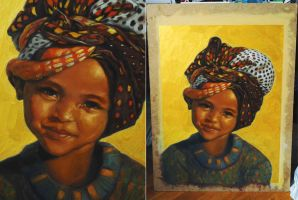 African girl by TalaStrogg