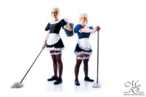 Saber maids 2 - Figures by simakai