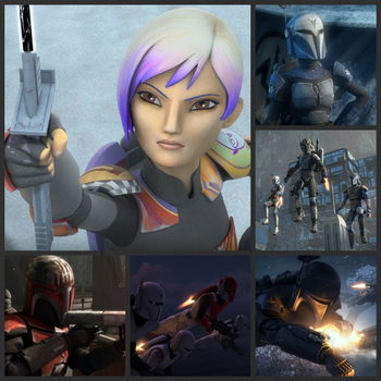 From Death Watch, Imperial Mandos, to Sabine Wren by KaylaDeviant16