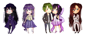 Exp. Chibi Batch Two by Aka-Ai