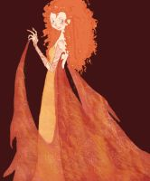 Merida the Fire Queen. by LoadUcha