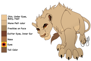 The-Smile-Giver Lioness Trade by Carlene707