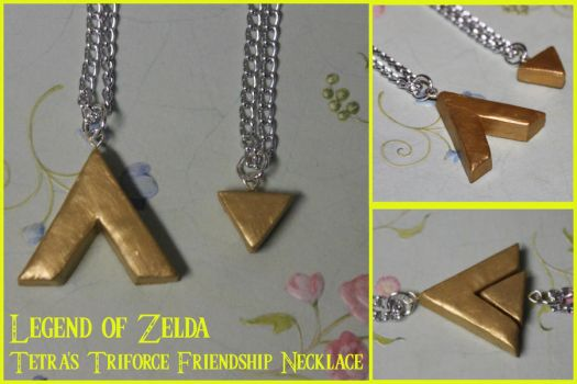 Tetra Triforce Friendship Necklaces by picklelicker129