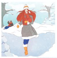 Winter Happines by LilyRedHaired