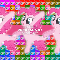 Nicki Minaj - Automatic (Pinkie Pie) by AdrianImpalaMata