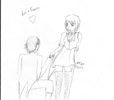 Lysander and Frances. by h-chan1316