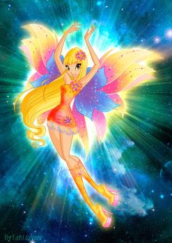 Winx Club Stella Mythix by fantazyme