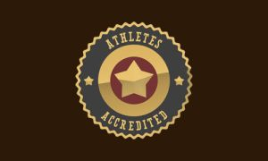 Athletes Accredited Logo by taki3