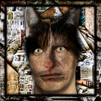 Catman portrait by Anupthra