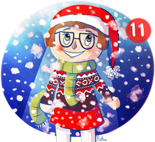 December 11th - snow day by Emsoble