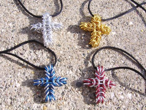 Chain crosses by ArcMoonblade