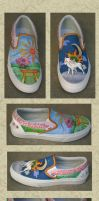 Okami shoes by Spectrolite