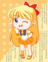 Sailor Venus by strawberryquiche
