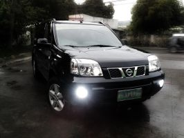 My Black X-trail by nizmo09