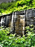 Water Fall Wall by nenglehardt