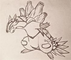 Project Fakemon: Mega Typhlosion by XXD17