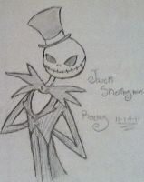 Jack Skellington by RockyTheOwl
