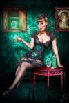 Absinth Godess by falt-photo