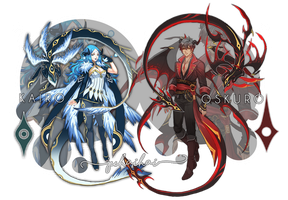 Adopts: Kairoskuro [CLOSED] by juhaihai
