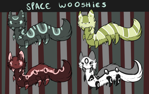 Space Wooshies OPEN by weweameme