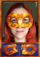 Autumn Forest Mask by TrollGirl