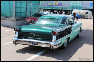 1957 Oldsmobile Starfire 98 Holiday Coupe by compaan-art