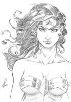 Wonder Woman of Themyscira by Marc-F-Huizinga