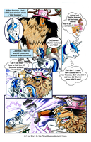 Nakama is Magic:  Shining Armor vs Monster Chopper by Irie-mangastudios