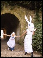 White Rabbit by Harlequeen-Christine