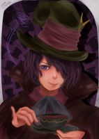Ib Crossover: The Mad Hatter by ka-rael