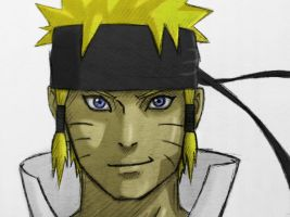 Naruto/Ashura Color Test by TheossFX