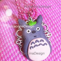 Totoro pendant by FocaccinaDesign by MGFM