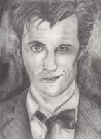 The Tenth and Eleventh Doctor by ManderFFA