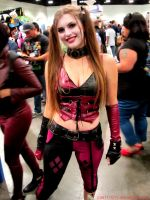 Harley Quinn Cosplay 02 Comikaze Expo 2014 by Joel111011