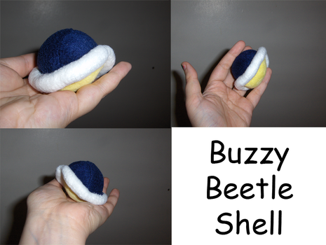 Buzzy Beetle Shell by Aemi