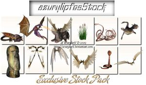 Exclusive 3D object stock by AzurylipfesStock