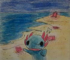 Land of Squids and Glow 1/2 by DarkGreenEspeon
