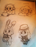 Chibi me faces 02 by mirry92